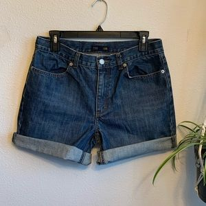 J.Crew High Rise Denim Shorts sz 10